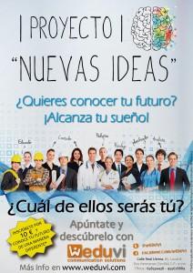 Cartel del Proyecto Nuevas Ideas